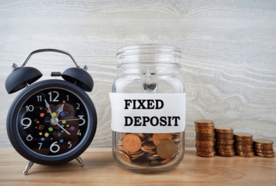 Explain the different types of fixed deposits?